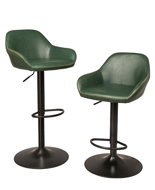 Brilliant Mid Century Modern Vintage Leatherette Gaslift Adjustable Swivel Bar Stool Set Of 2 Forskolin Free Trial Chair Design Images Forskolin Free Trialorg