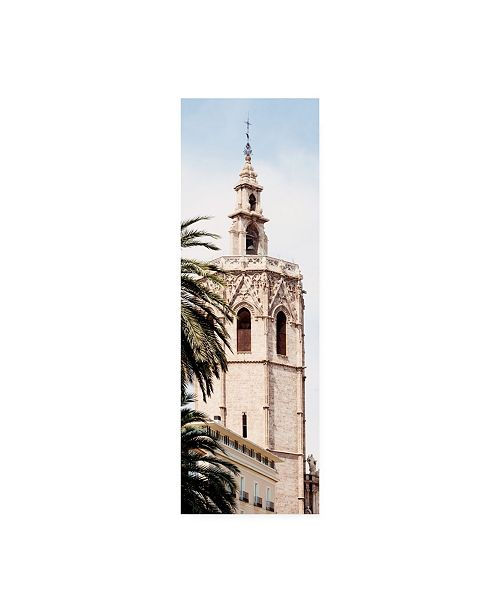 "Trademark Global Philippe Hugonnard Made in Spain 2 Valencia Cathedral II Canvas Art - 36.5"" x 48"""