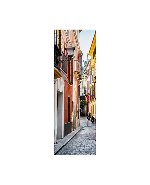 """Trademark Global Philippe Hugonnard Made in Spain 2 Colourful Street of Seville Canvas Art - 36.5"""" x 48"""""""