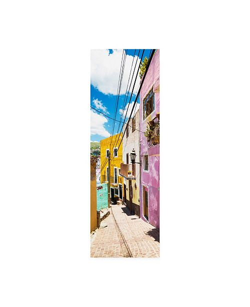 "Trademark Global Philippe Hugonnard Viva Mexico 2 Street Scene Guanajuato Canvas Art - 27"" x 33.5"""