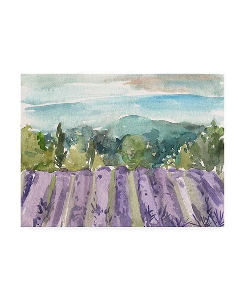 "Trademark Global Melissa Wang Watercolor Views III Canvas Art - 27"" x 33.5"""