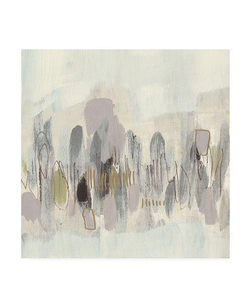 "Trademark Global Jennifer Goldberger Neutral Shapes II Canvas Art - 15.5"" x 21"""