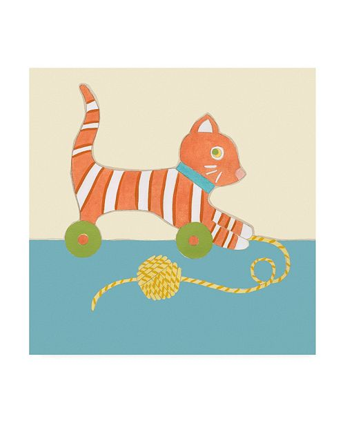 "Trademark Global Chariklia Zarris Julians Pals I Childrens Art Canvas Art - 36.5"" x 48"""