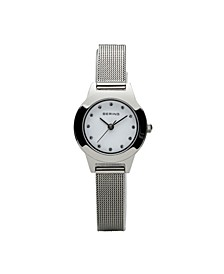 Ladies Classic Stainless Steel Mesh Watch