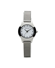 Bering Ladies Classic Stainless Steel Mesh Watch