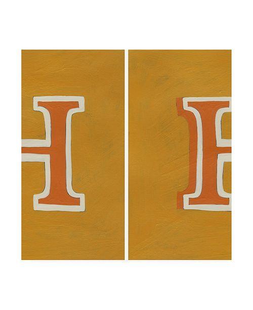 "Trademark Global Chariklia Zarris Luciens H 6 Up Canvas Art - 15.5"" x 21"""