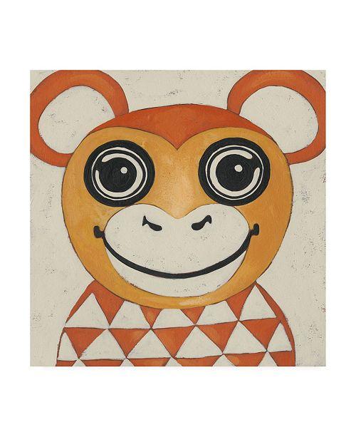 "Trademark Global Chariklia Zarris Zoo Portrait I Canvas Art - 19.5"" x 26"""