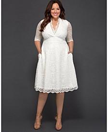 Women's Plus Size Wedding Belle Dress