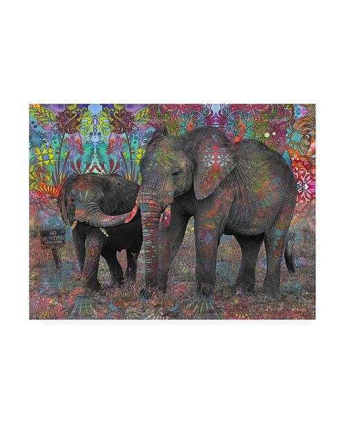 """Trademark Global Dean Russo No Hunting Canvas Art - 19.5"""" x 26"""""""