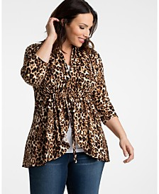 Kiyonna Women's Plus Size Lori Printed Bellini