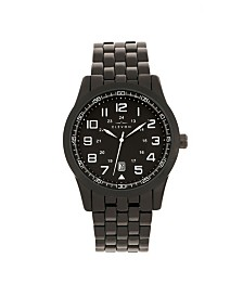 Elevon Men's Garrison Alloy Bracelet Watch 42mm
