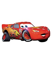 York Wallcoverings Cars - Lightening Mcqueen Peel and Stick Giant Wall Decal