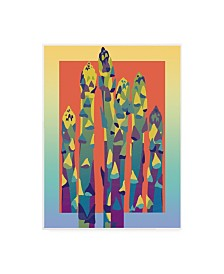 "David Chestnutt Asparagus Pastel Canvas Art - 27"" x 33.5"""