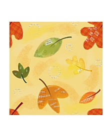 """Holli Conger Give Thanks repeat Canvas Art - 19.5"""" x 26"""""""