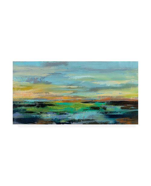 "Trademark Global Silvia Vassileva Delmar Sunset I Canvas Art - 27"" x 33.5"""