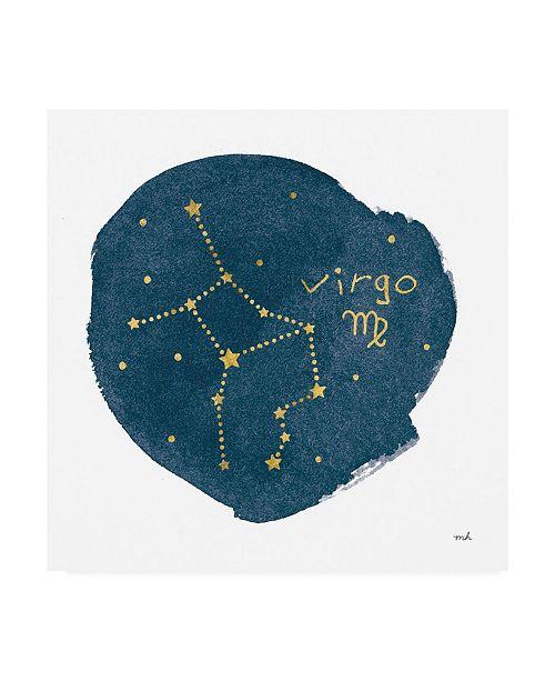 "Trademark Global Moira Hershey Horoscope Virgo Canvas Art - 36.5"" x 48"""
