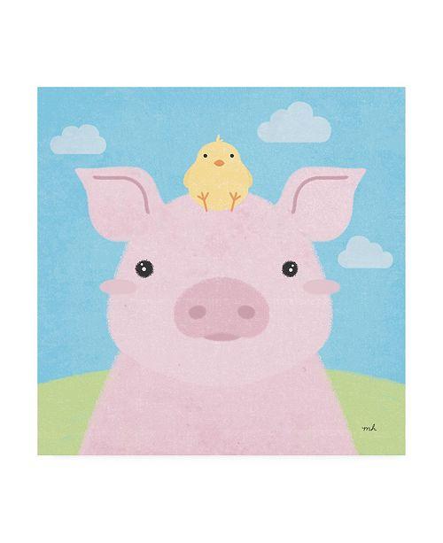 "Trademark Global Moira Hershey Barn Buddies II Canvas Art - 15.5"" x 21"""