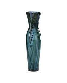 Feather Vase - Blue Collection