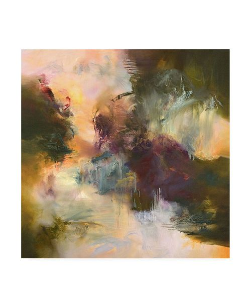 "Trademark Global Emilia Aran Wanderlust Muted Canvas Art - 15.5"" x 21"""