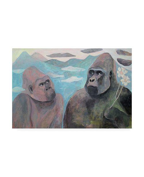 "Trademark Global Iria Fernandez Alvare Do You Love Me Canvas Art - 15.5"" x 21"""