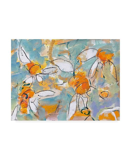 "Trademark Global Per Ander Summer Daisies Canvas Art - 36.5"" x 48"""