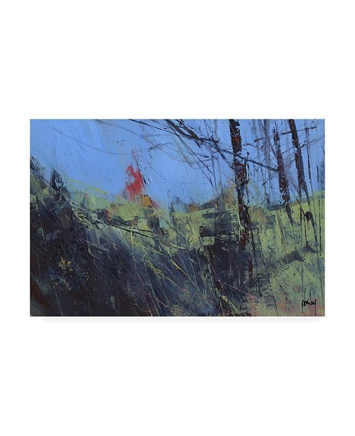 "Trademark Global Paul Baile Hillside Clearing Canvas Art - 27"" x 33.5"""