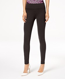 I.N.C. Curvy Pull-On Skinny Pants, Created for Macy's