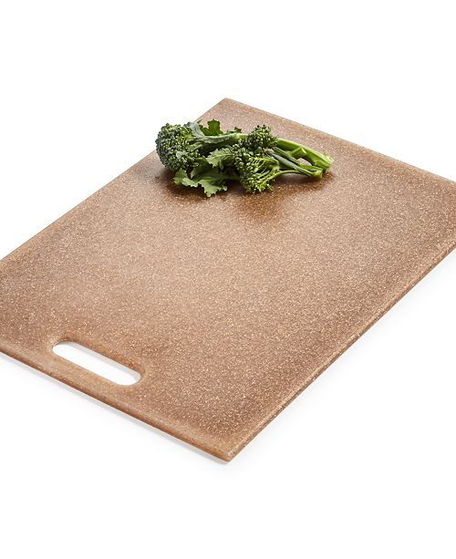 Martha Stewart Collection Flax Husk Cutting Board, Created For Macy's