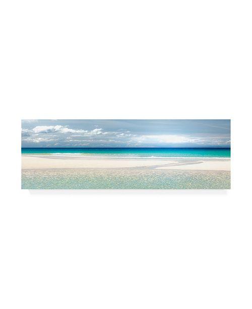 "Trademark Global Lynne Dougla Gentle Kiss of Summer Pano Canvas Art - 27"" x 33.5"""