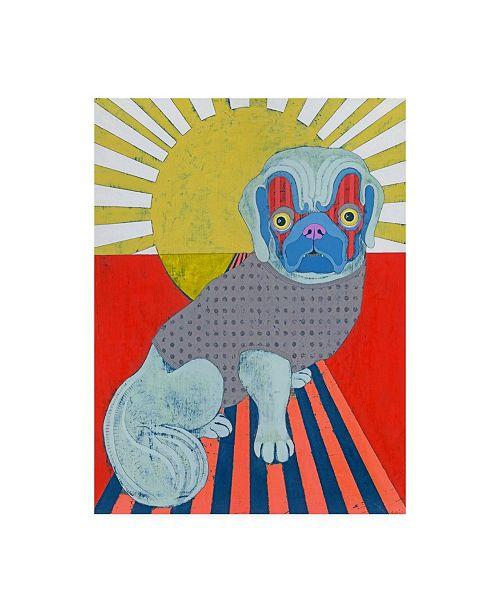 "Trademark Global Jennifer Davi Pekingese Canvas Art - 27"" x 33.5"""