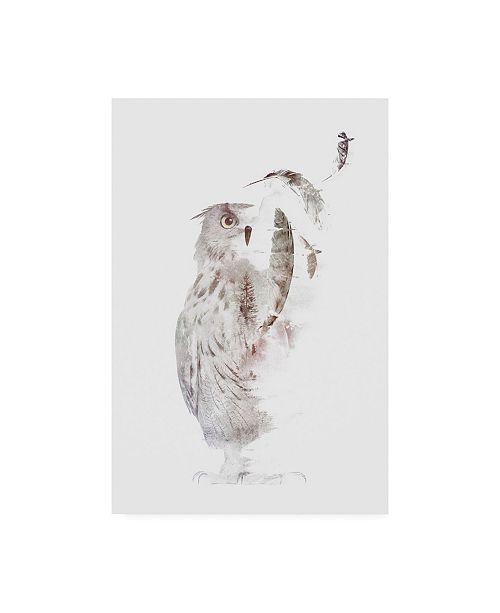 """Trademark Global Robert Farka Fade Out Canvas Art - 19.5"""" x 26"""""""