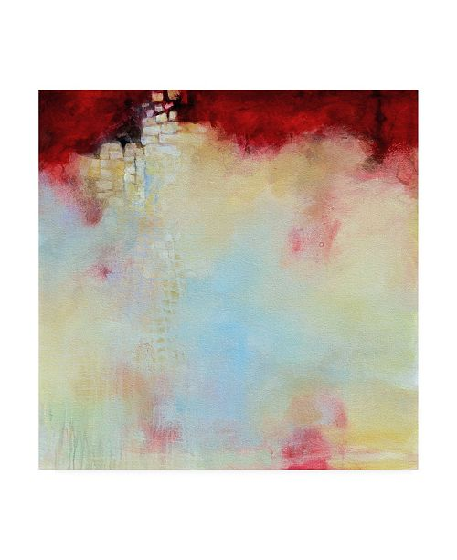 "Trademark Global Karen Hal Ascending Abstract Canvas Art - 15.5"" x 21"""