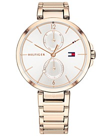 Women's Rose Gold-Tone Stainless Steel Bracelet Watch 36mm