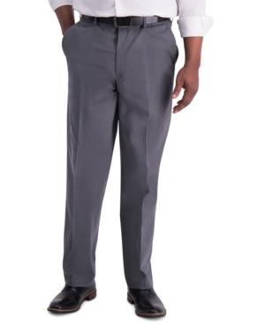 Men's Iron Free Premium Khaki Classic-Fit Flat-Front Pant