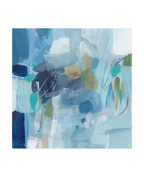 "Trademark Global Christina Long Waiting in Line Brush Canvas Art - 20"" x 25"""