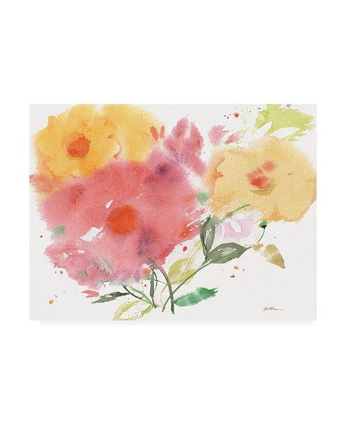 "Trademark Global Sheila Golden Vibrant Expressions Canvas Art - 20"" x 25"""