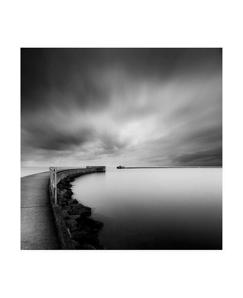 "Trademark Global Mats Reslow Portal Coastline Canvas Art - 20"" x 25"""