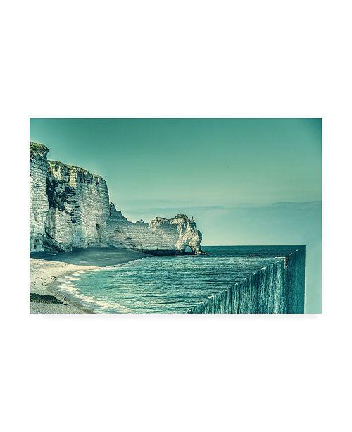 "Trademark Global Marcus Hennen The End Waterfall Canvas Art - 37"" x 49"""