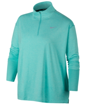 Nike Tops ELEMENT PLUS SIZE RUNNING TOP