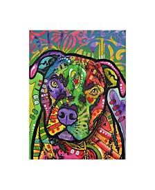 "Dean Russo Hank Stencil Canvas Art - 37"" x 49"""