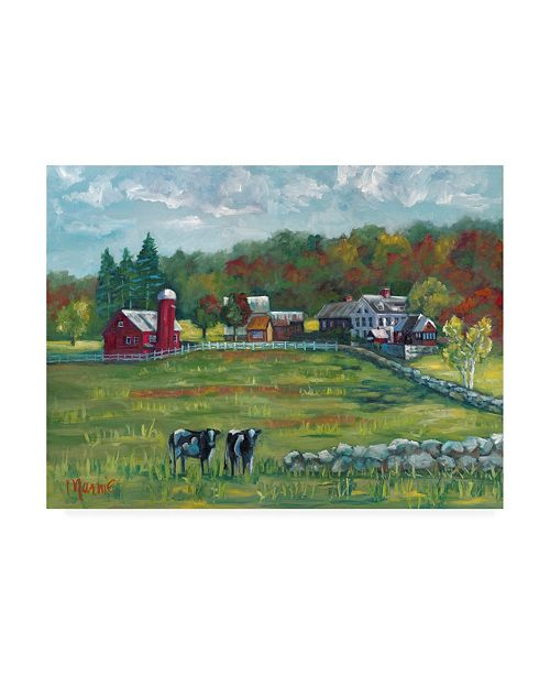 "Trademark Global Marnie Bourque Hints of Fall Canvas Art - 20"" x 25"""