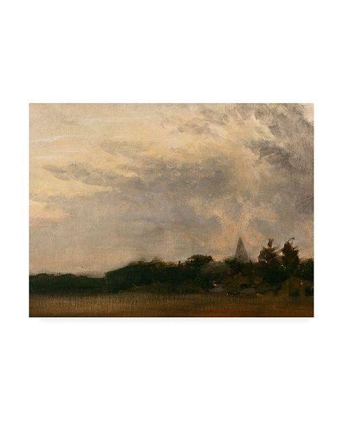 """Trademark Global Michael Budden Evenings Approach Canvas Art - 37"""" x 49"""""""