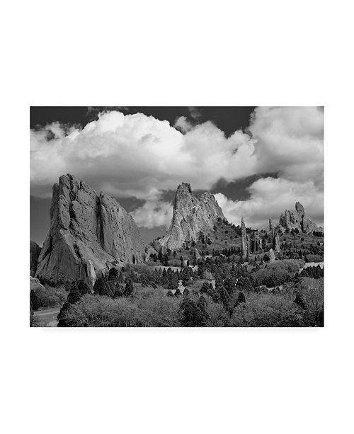 "Trademark Global Monte Nagler Garden of the Gods Canvas Art - 20"" x 25"""