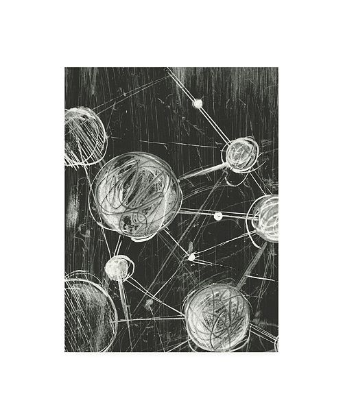 "Trademark Global Ethan Harper Molecular Fusion I Canvas Art - 15"" x 20"""