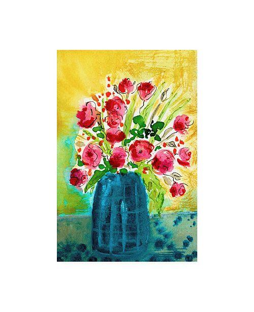 "Trademark Global Julia Minasian Bright Arrangement I Canvas Art - 20"" x 25"""