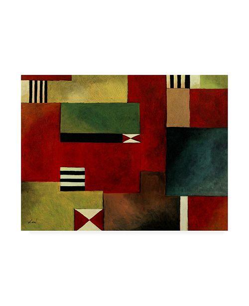 "Trademark Global Pablo Esteban Bold Geometry 1 Canvas Art - 27"" x 33.5"""