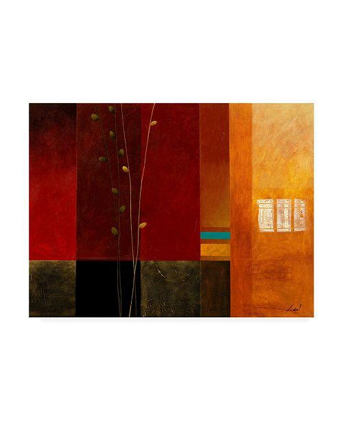 "Trademark Global Pablo Esteban Bold Geometry 4 Canvas Art - 27"" x 33.5"""