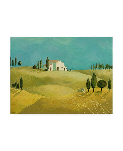 "Trademark Global Pablo Esteban Tuscan Villas Paint 2 Canvas Art - 19.5"" x 26"""