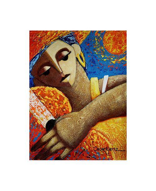 "Trademark Global Oscar Ortiz Jibara & Sol Canvas Art - 19.5"" x 26"""