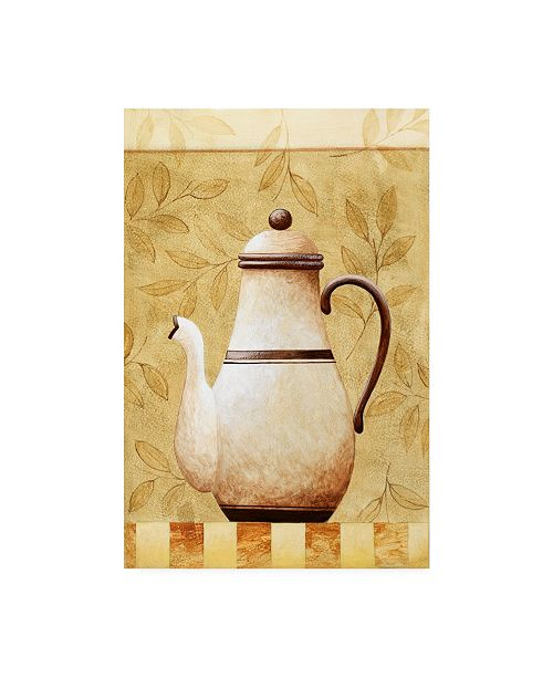 "Trademark Global Pablo Esteban Black and White Pitcher 2 Canvas Art - 19.5"" x 26"""